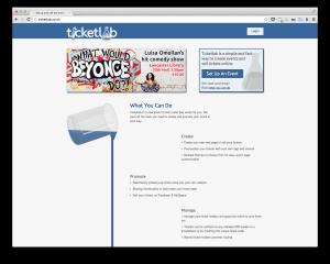 Ticketlab homepage